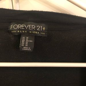 Forever 21 Sweaters - 3/4 sleeve long cardigan with pockets